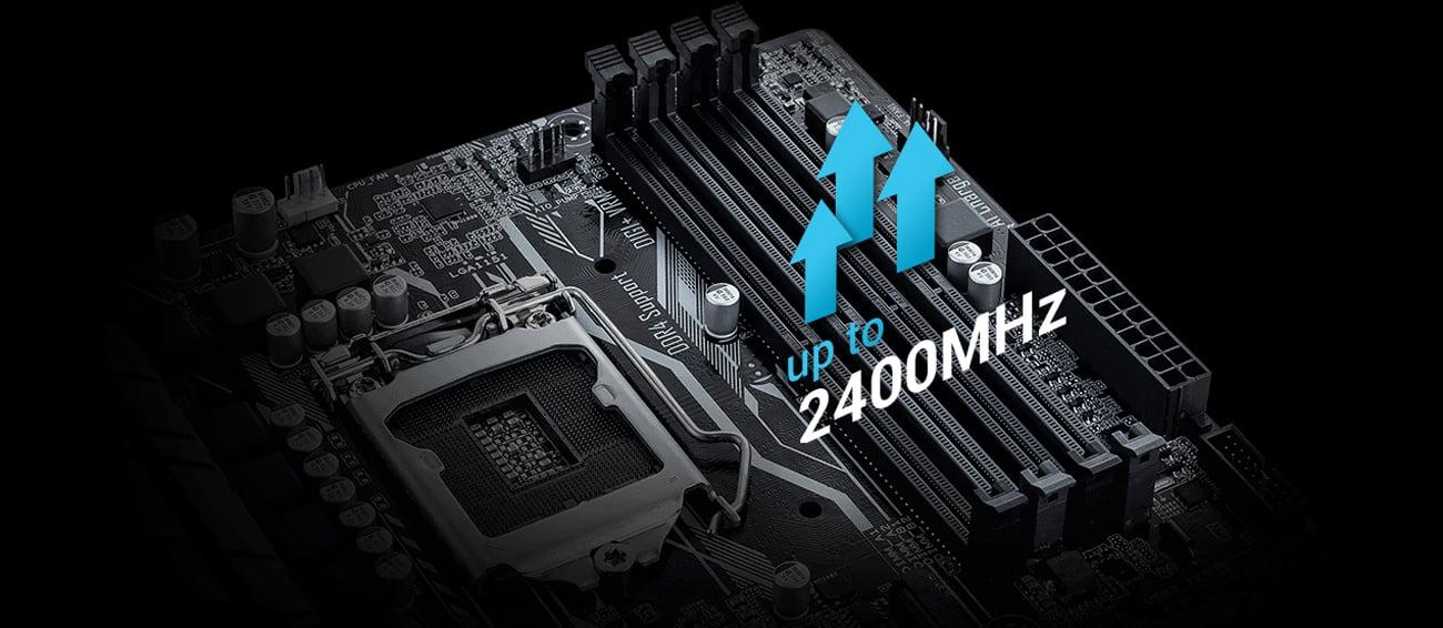 Płyta główna ASUS B250M-A Obsługa pamięci RAM DDR4