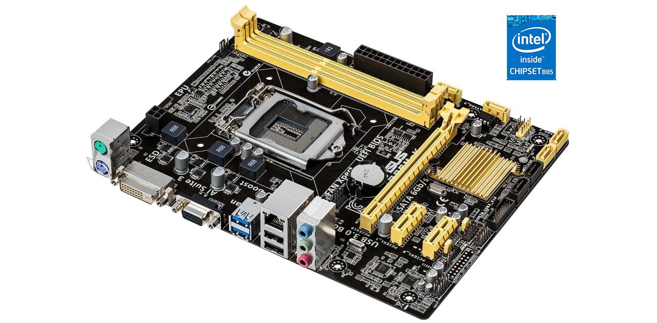 ASUS B85M-K Intel® B85 Express