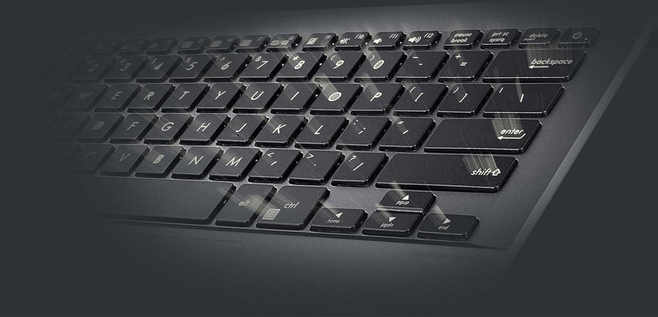 Podświetlana klawiatura w ASUS B9440UA