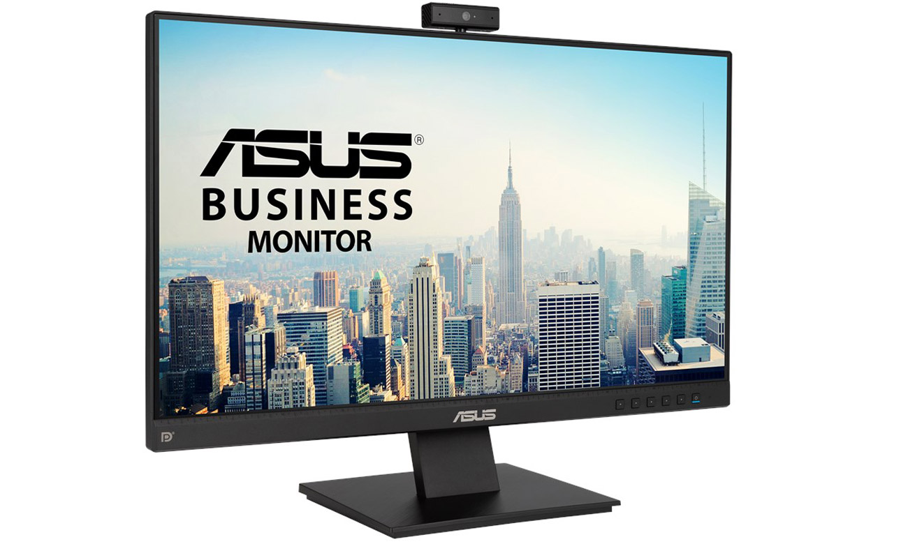 Monitor do domu i biura ASUS BE24EQK z kamerą internetową