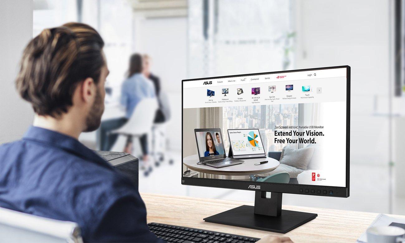 Monitor do domu i do biura ASUS BE24EQSB
