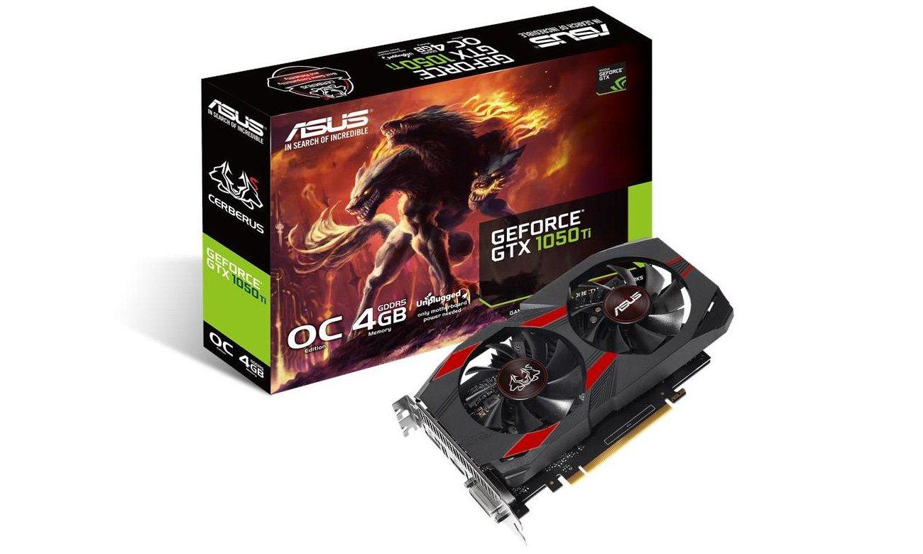 ASUS GeForce GTX 1050 Ti Cerberus OC