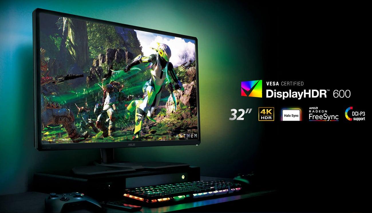 Monitor ASUS CG32UQ 4K HDR Console Gaming