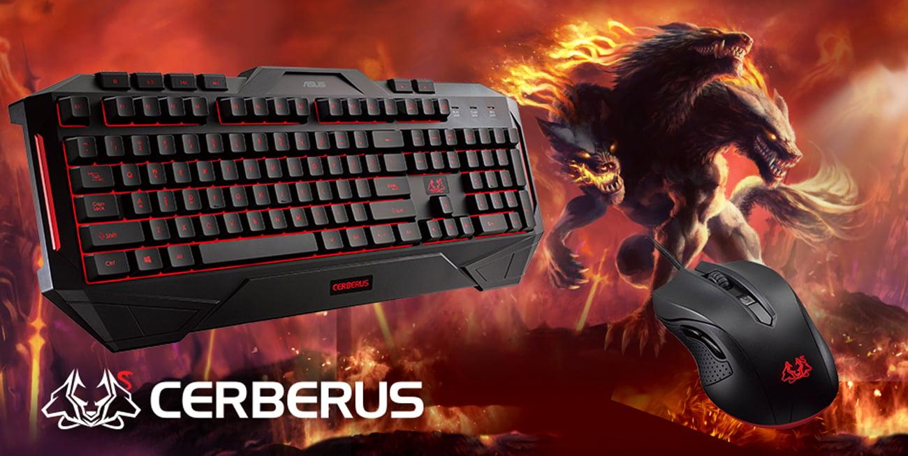 ASUS Cerberus Gaming Keyboard & Mouse Combo