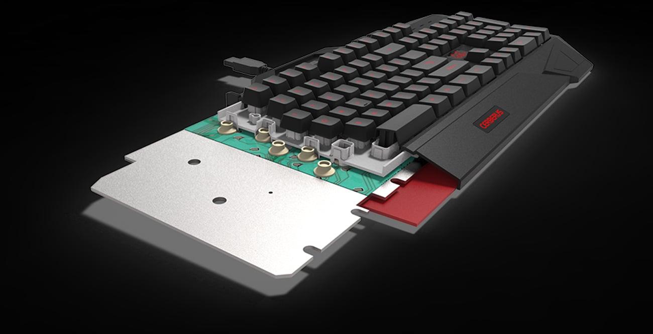 ASUS Cerberus Keyboard MKII Zaawansowana Konstrukcja