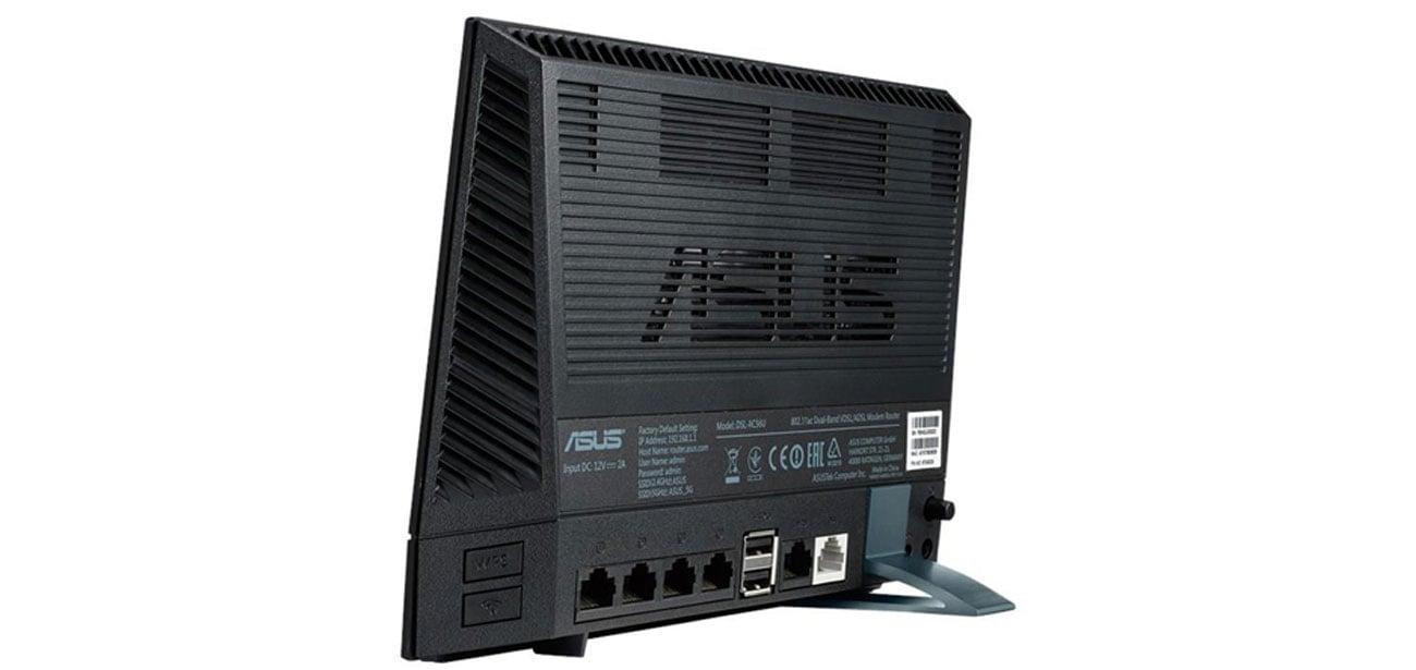 ASUS DSL-AC56U urządzenie 2w1 router modem adsl
