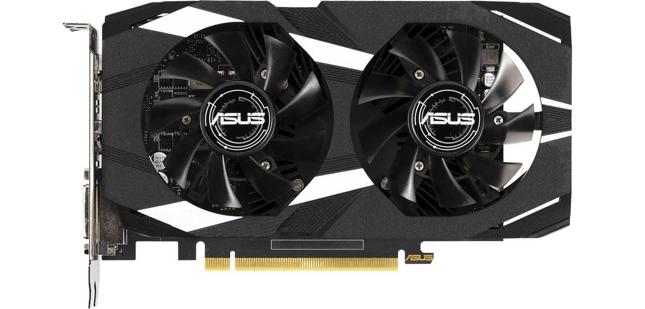 Die Auto Extreme Technologie der Grafikkarte ASUS GeForce 4GB GDDR5 DUAL-GTX1650-4G