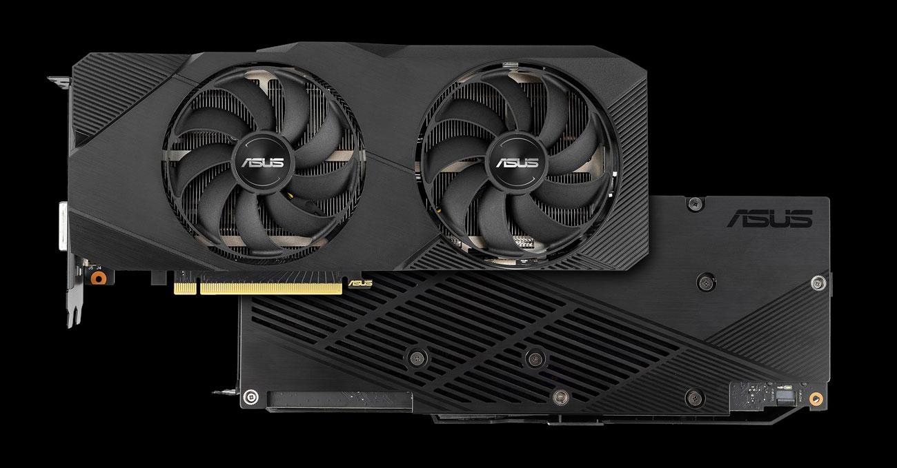ASUS GeForce RTX 2060 SUPER DUAL EVO OC - Chłodzenie