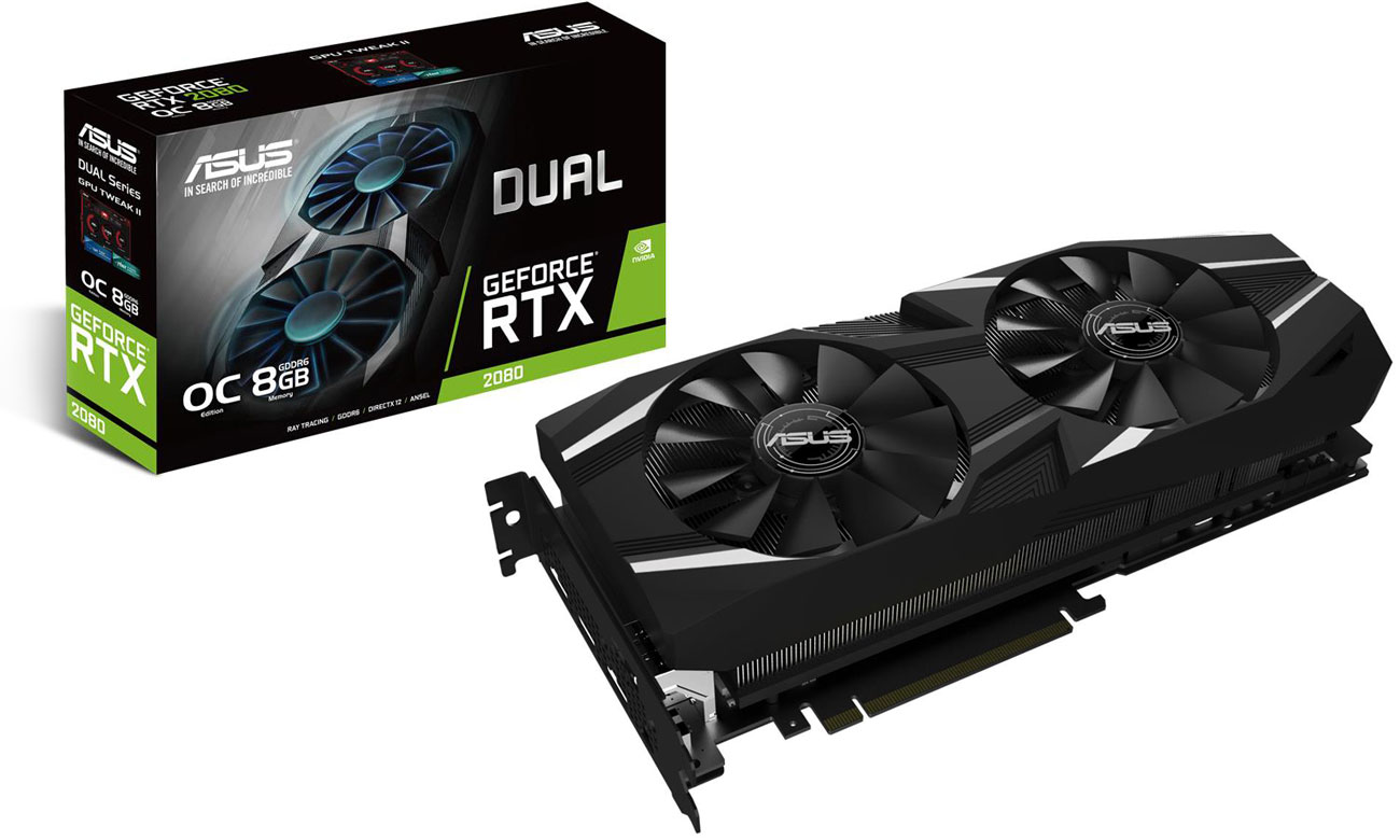 ASUS GeForce RTX 2080 DUAL OC 8 GB