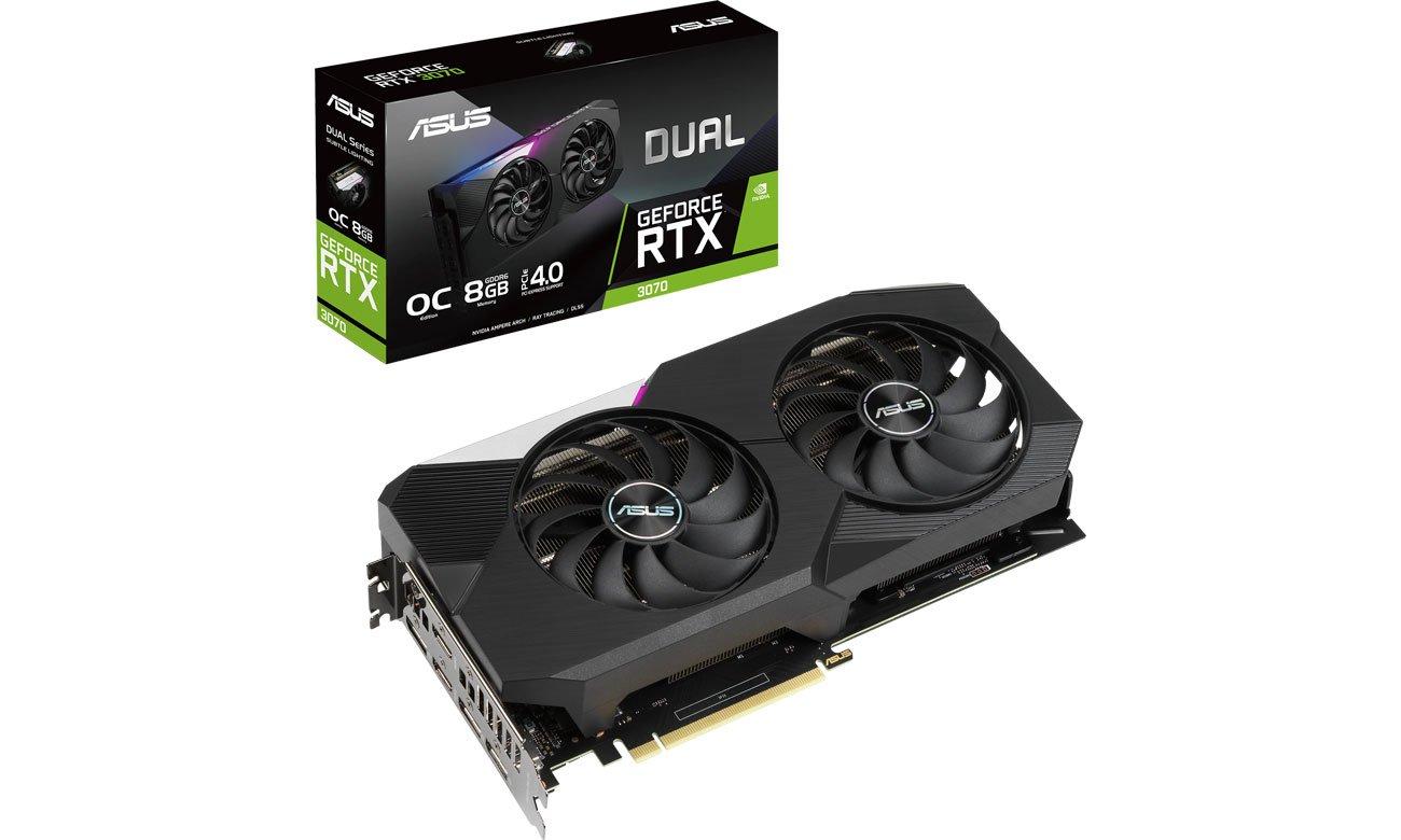 Karta graficzna NVIDIA ASUS GeForce RTX 3070 DUAL OC 8GB GDDR6 DUAL-RTX3070-O8G