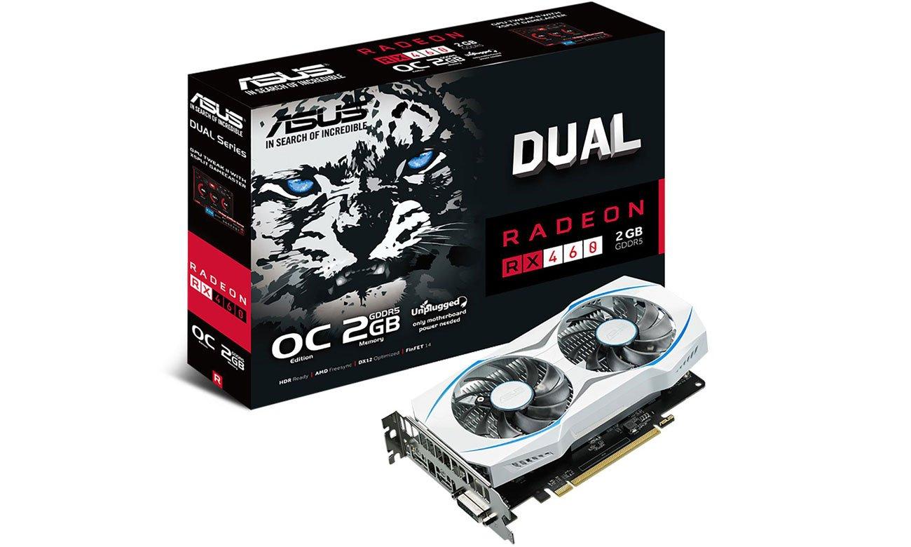 Asus Radeon Rx460 Dual Oc 2gb Karty Graficzne Amd Sklep
