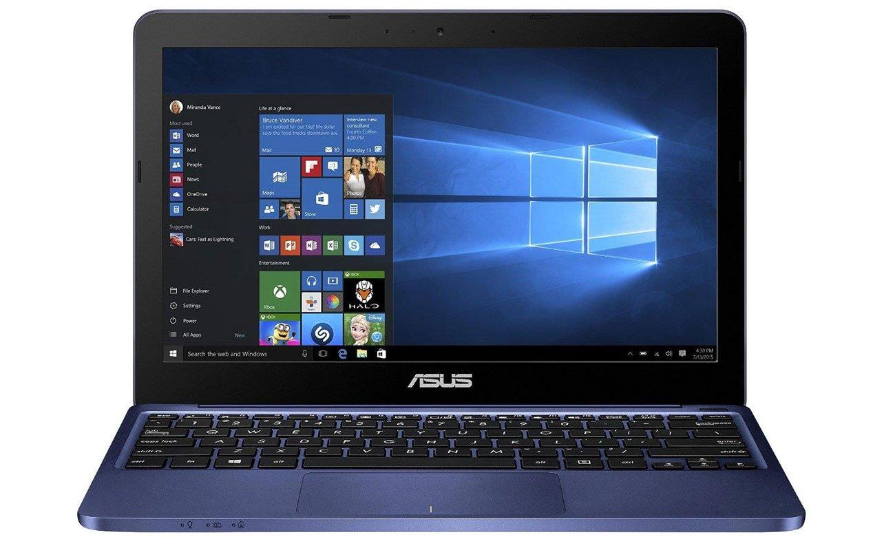 ASUS E200HA-FD0102TS czterordzeniowy procesor Intel płynna wydajna wielozadaniowość