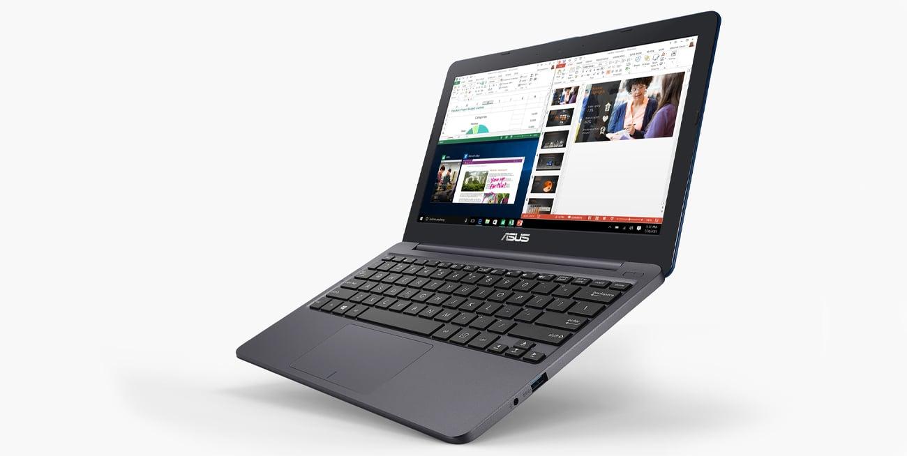 ASUS VivoBook E12 wytrzymałe zawiasy