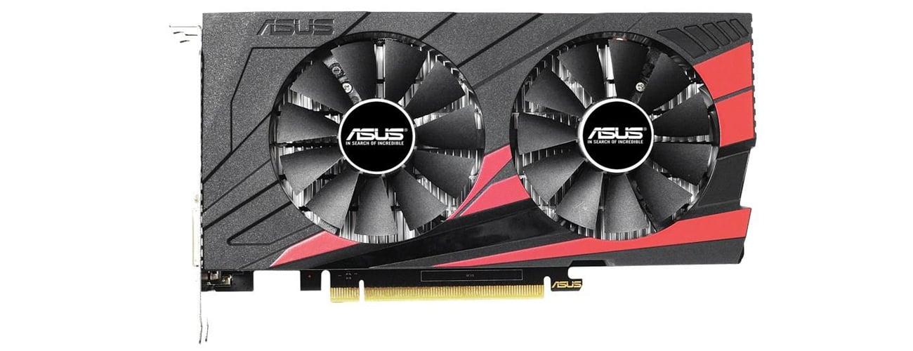 Охолодження ASUS GeForce GTX 1050 Ti