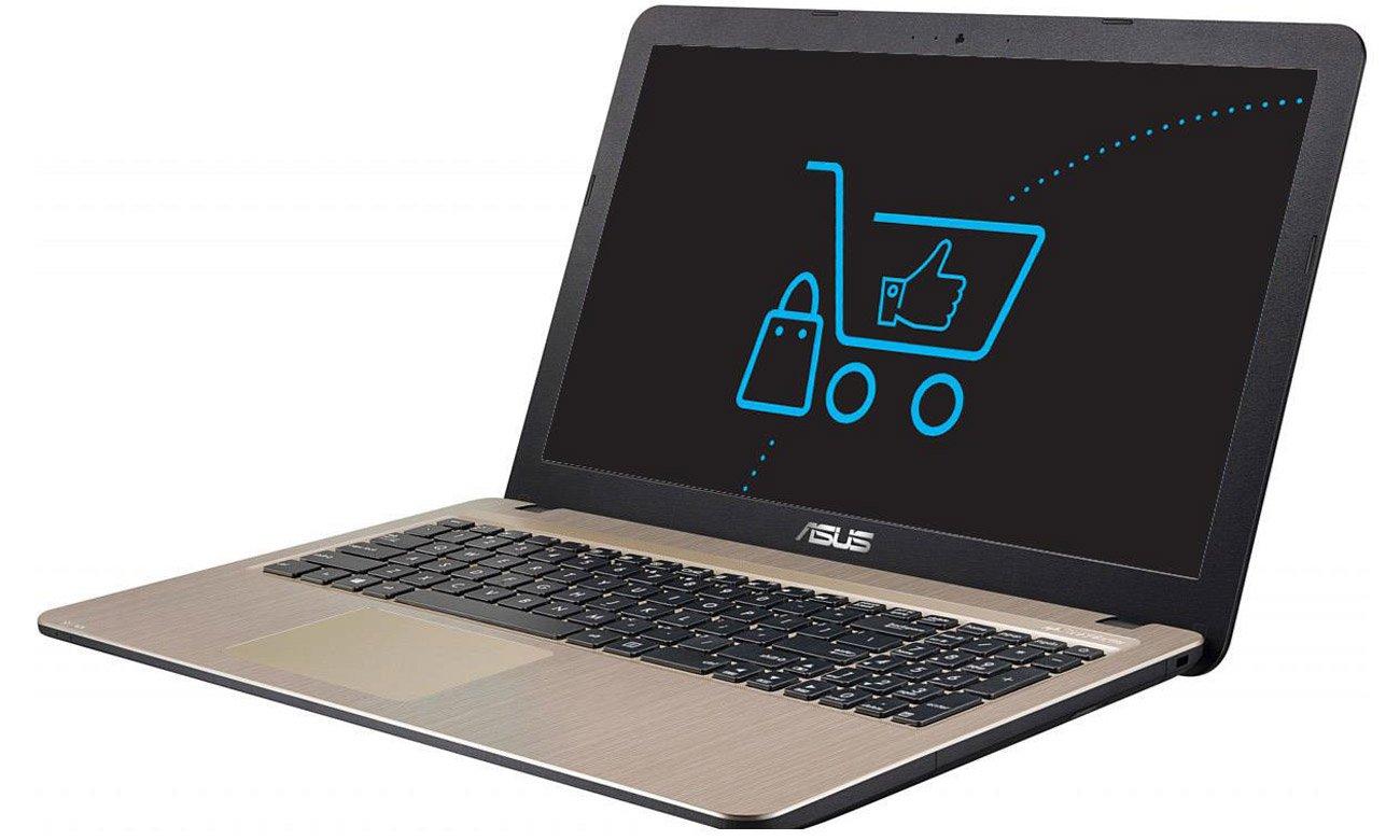 Asus X540ya Xo107d E1 7010 4gb 256ssd Dvd Notebooki Laptopy 156 Amd Procesor A6 6310