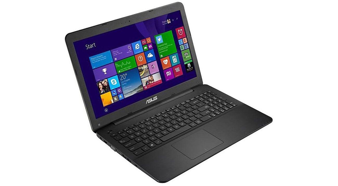 Laptop ASUS F555LJ-XO717H ergonomiczna jednoczęściowa klawiatura