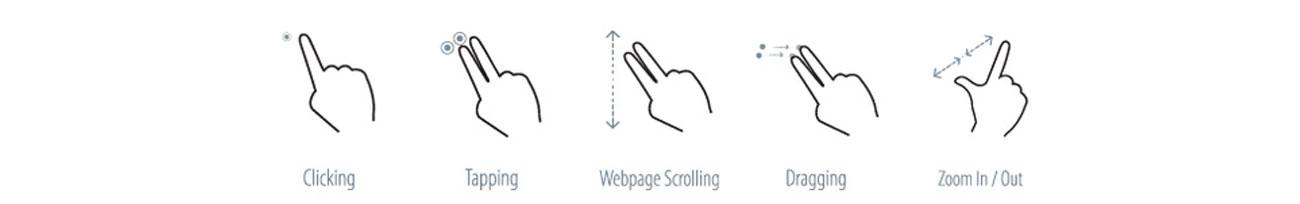 Laptop ASUS F555LJ-XO717H technologia gestów smart Gesture