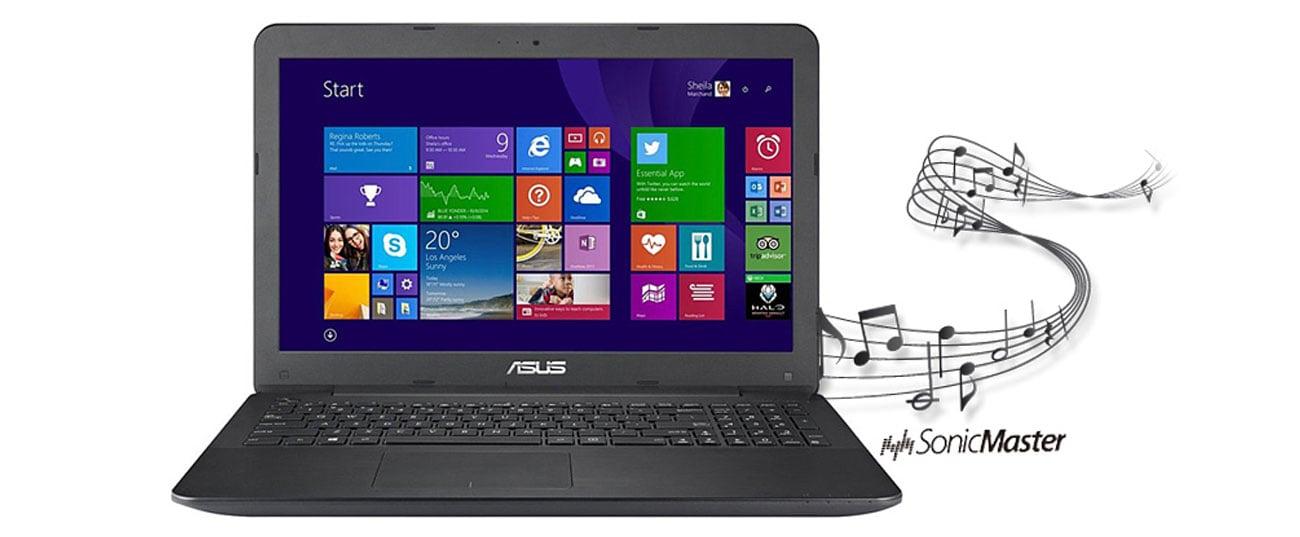 Laptop ASUS F555LJ-XO717H technologia sonic master
