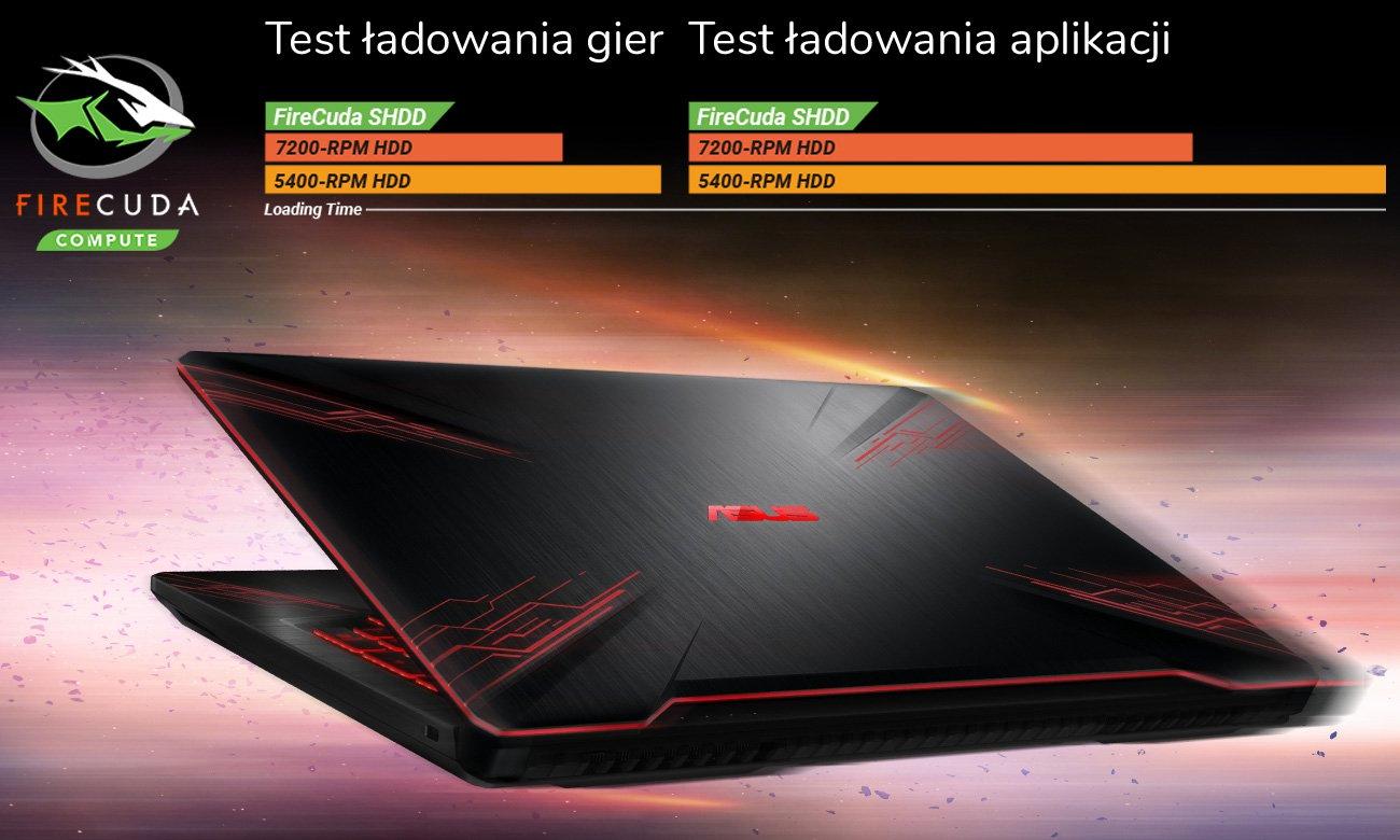 ASUS TUF Gaming FX504 Dysk hybrydowy SSHD FireCuda