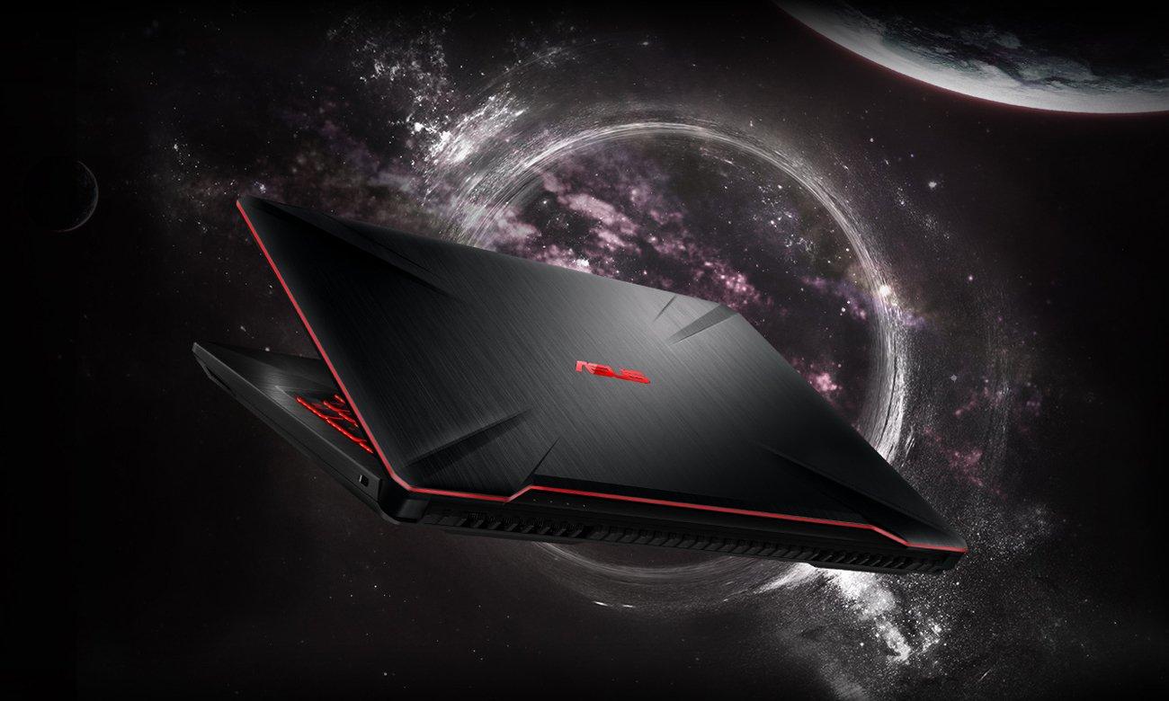 Asus TUF Gaming FX504 stylistyka dla gracza wielozadaniowość