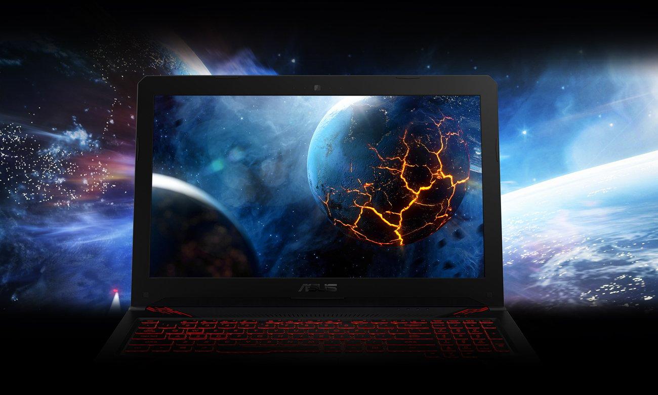 Asus TUF Gaming FX504 klasa IPS szerokokątny ekran