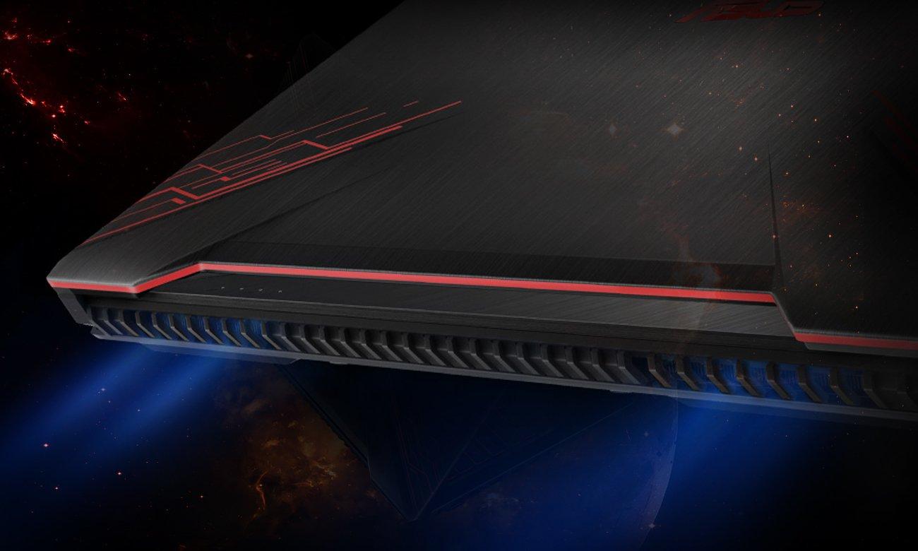 Asus TUF Gaming FX504 technologia hypercool chłodzenie żywotnośc
