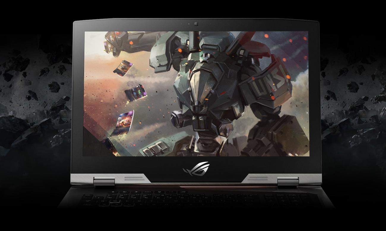 Asus ROG Strix G703GI matryca IPS 13,3 calowy ekran antyodblaskowa fullhd czas reakcji 7ms