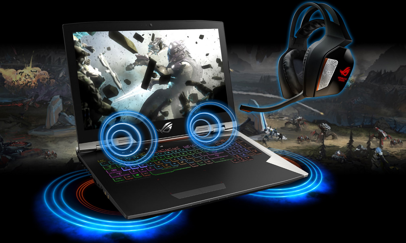 Asus ROG Strix G703GI ESS® Sabre Sonic Studio III