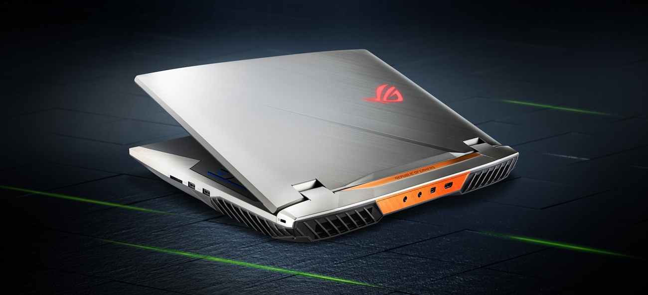 Asus ROG G703GX gamingowy laptop czas reakcji gtg