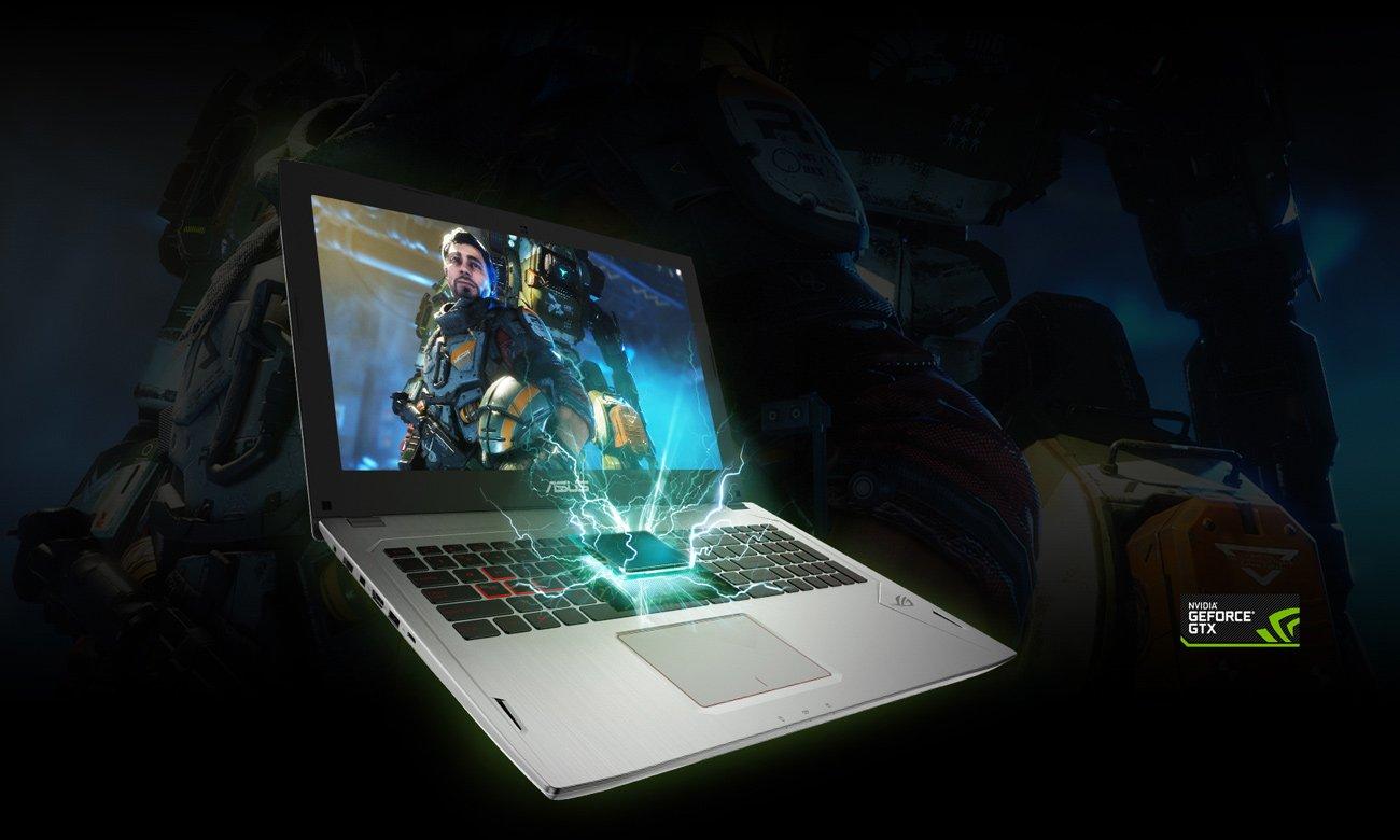 ASUS ROG Strix GL502VM karta graficzna NVIDIA GeForce GTX 1060