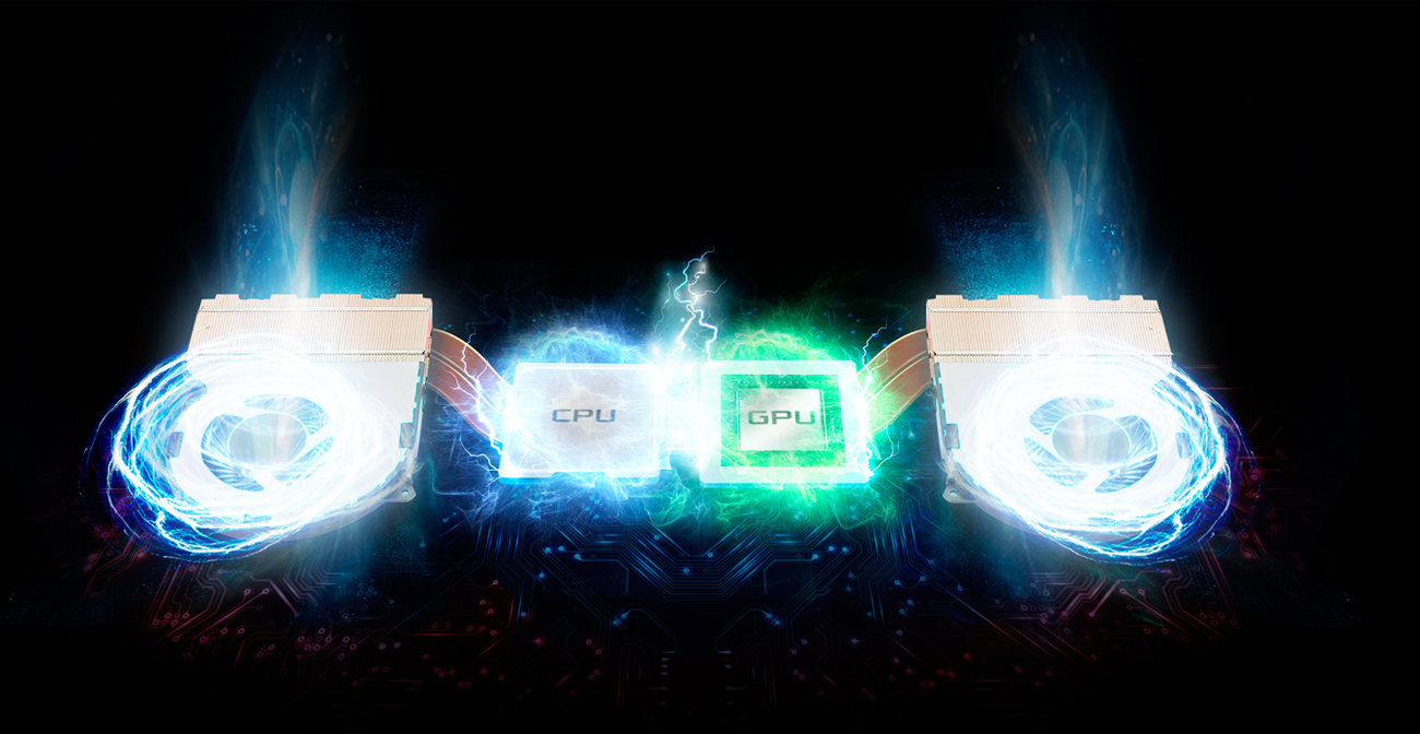 ASUS ROG Strix GL702VS inteligentne chłodzenie
