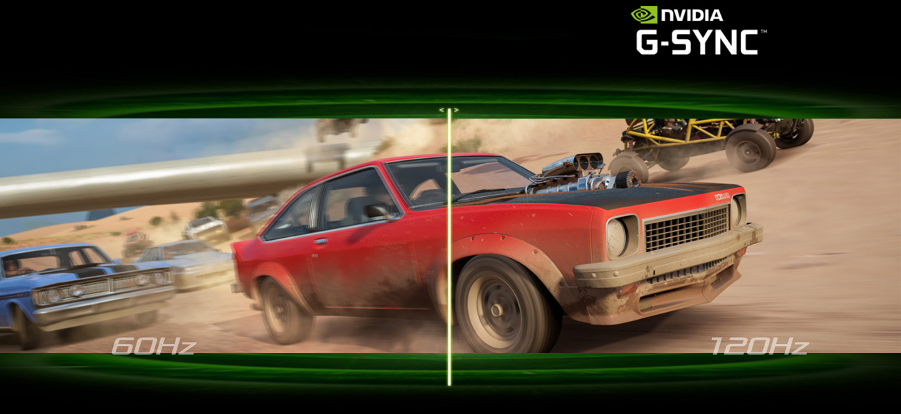 ASUS ROG Strix GL502VS 120Hz z NVIDIA G-SYNC™