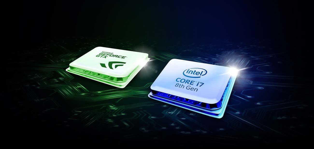 ASUS ROG Strix GL504GM Procesor Intel Core i7 ósmej generacji