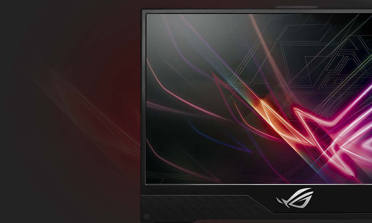 ASUS ROG Strix GL504GM ultraresponsywny ekran wąska ramka