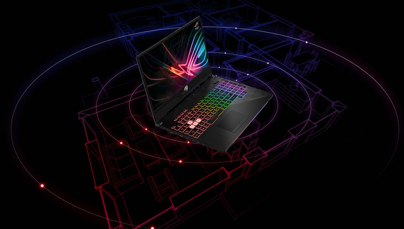 ASUS ROG Strix GL504GM technologia RangeBoost