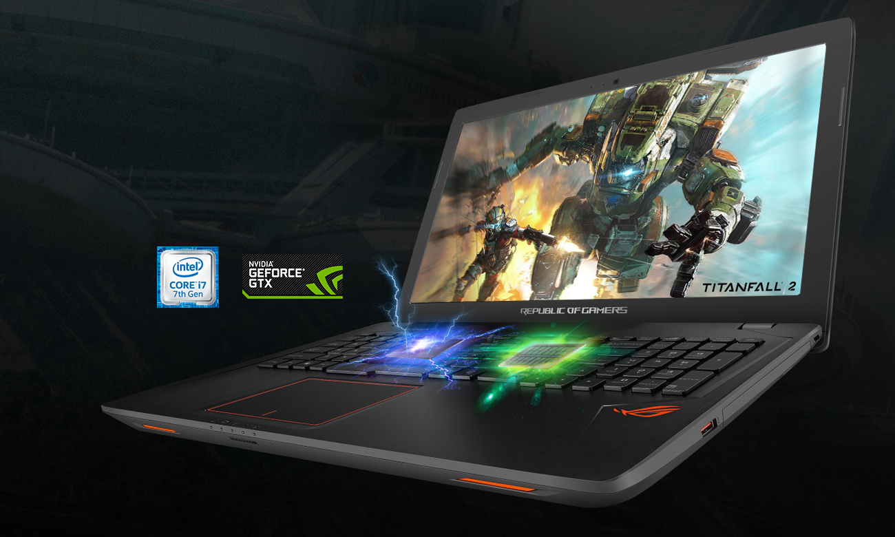 ROG Strix GL553VD Idealny do gier