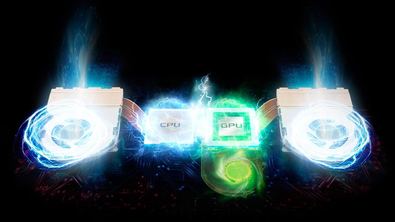 ASUS ROG Strix GL702VM inteligentne chłodzenie
