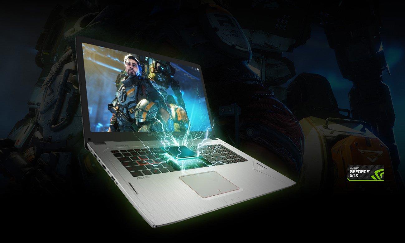 ASUS ROG Strix GL702VM karta graficzna NVIDIA GeForce GTX 1060