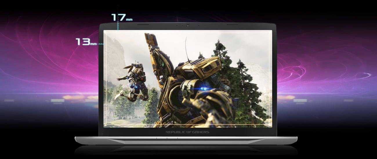 ASUS ROG Strix GL702VM smukły laptop gamingowy
