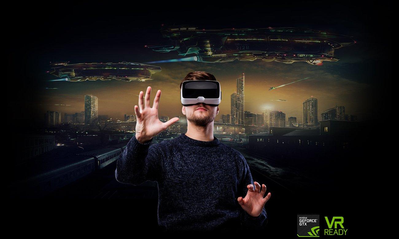 ASUS ROG Strix GL703GE занурюється у відеокарти VR GTX