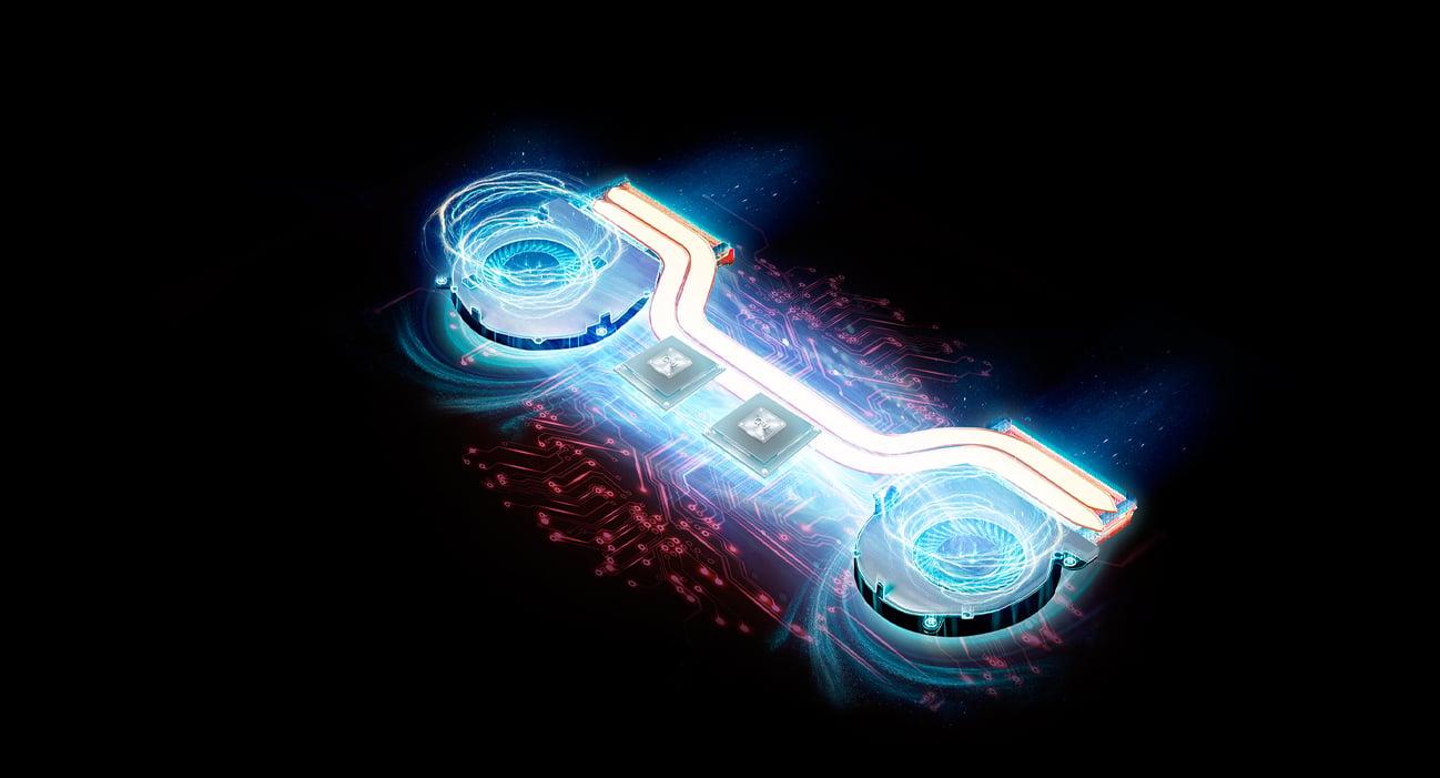 ASUS ROG Strix GL703GE відтворює його крутий тепловий дизайн