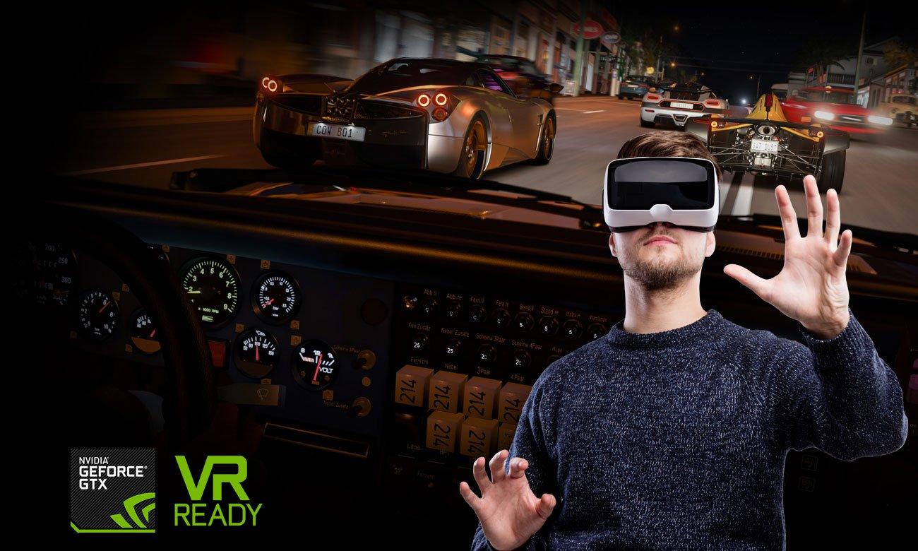 ASUS ROG Strix GL703VD Занурення VR досвіду