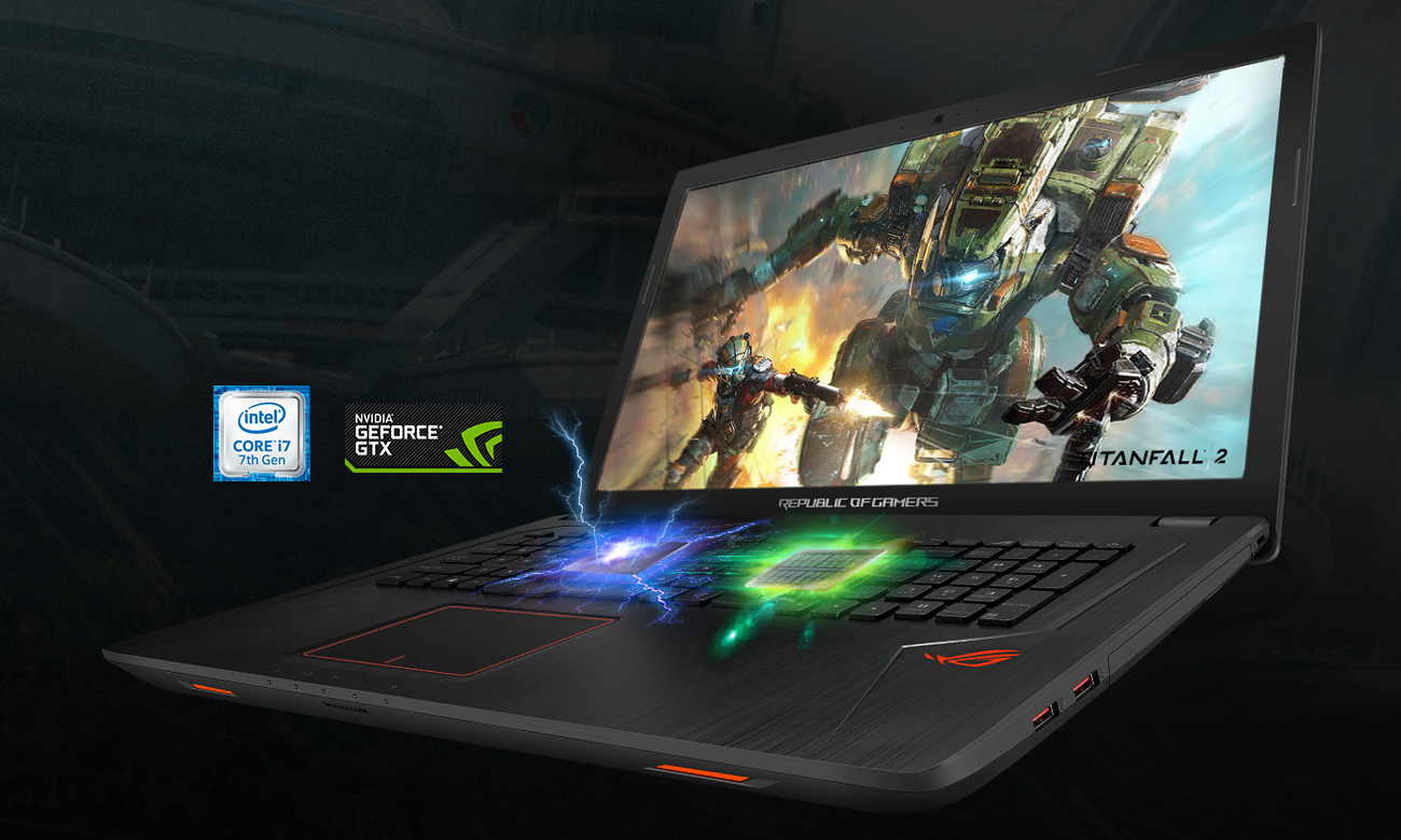 ROG Strix GL753VE Idealny do gier