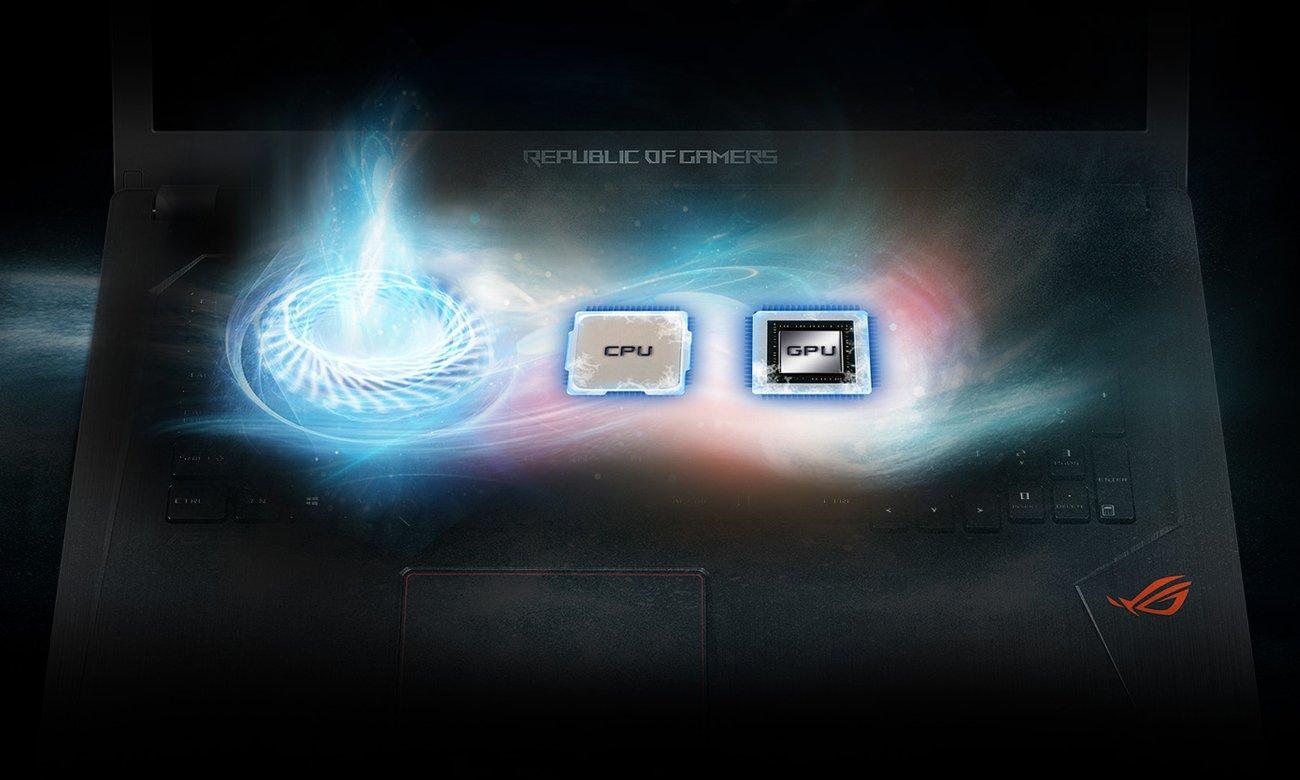 Inteligentny układ termiczny dla ROG Strix GL753VE