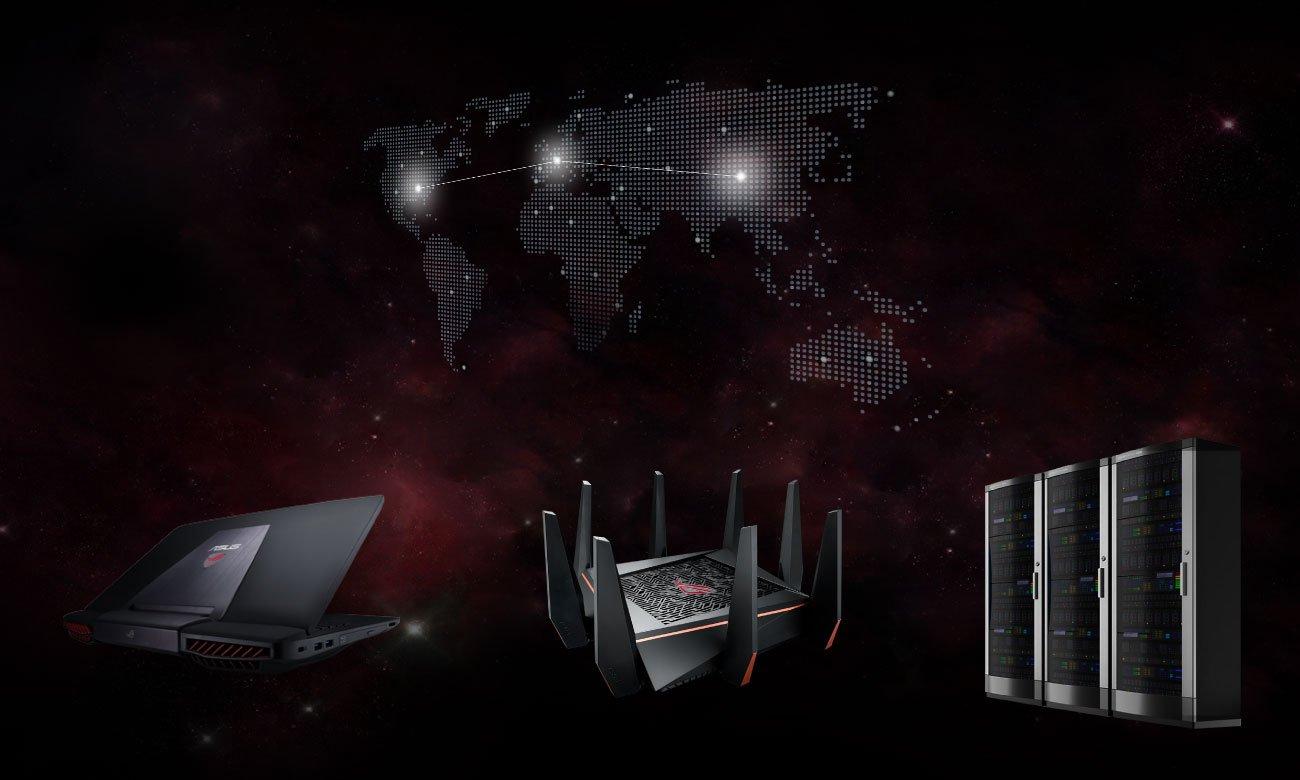 ASUS ROG GT-AC5300 LAN, Game Boost, WTFast