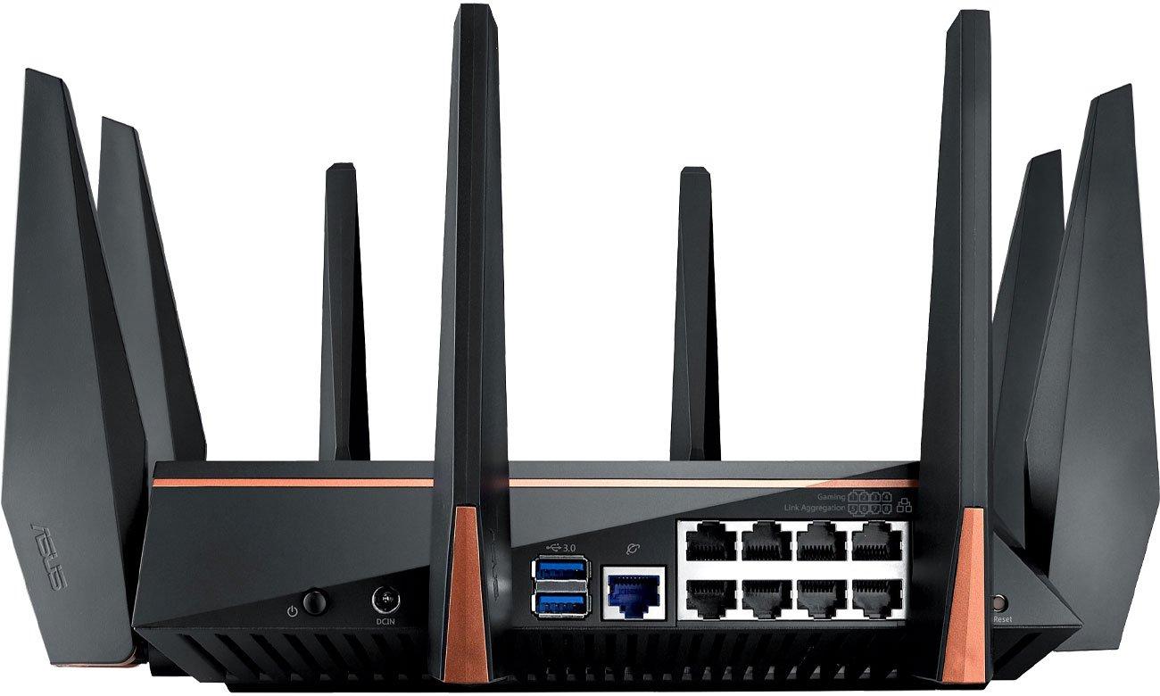 ASUS ROG GT-AC5300 Złącza routera