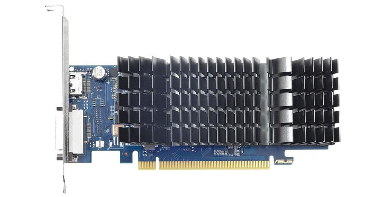 Kühlung der Grafikkarte mit 0dB ASUS GeForce SL 2GB GDDR5 GT1030 BRK