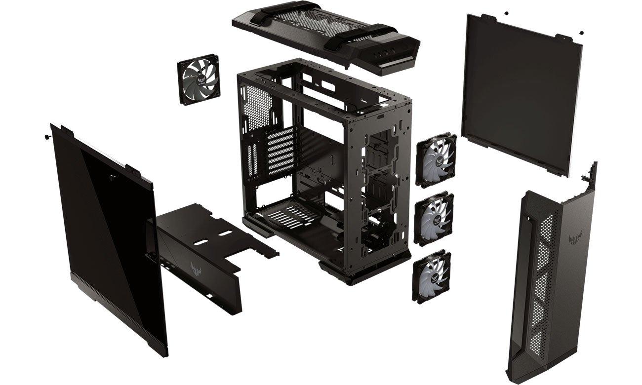 ASUS TUF Gaming GT501 Chłodzenie