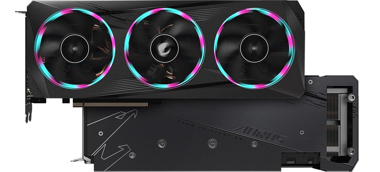 Gigabyte Radeon RX 6700 XT AORUS ELITE - Chłodzenie