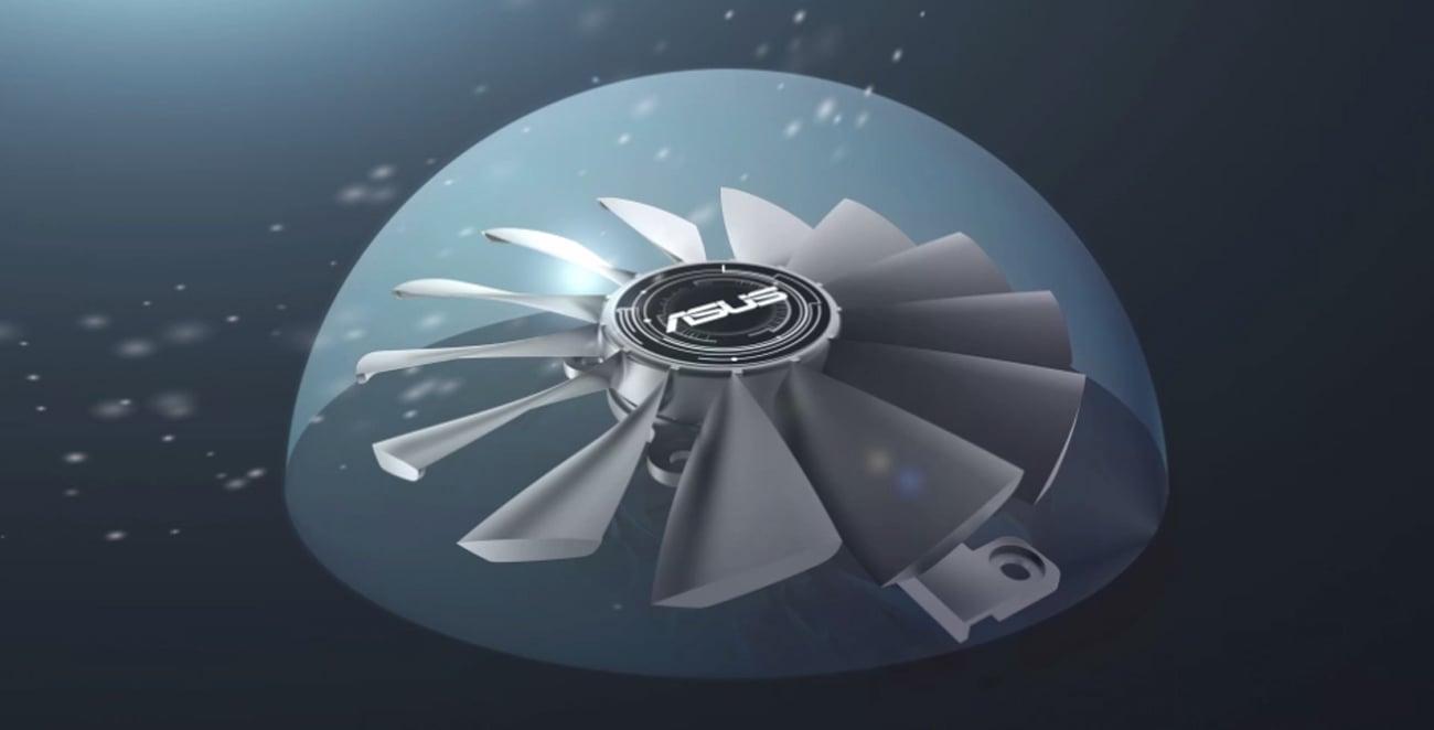 ASUS Radeon RX 570 Strix OC Odporność Na Kurz
